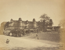 View of the Man Mandir Palace from the south-west, Gwalior